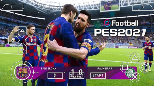 PES 2021 PPSSPP - PSP